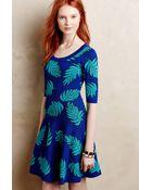 Plenty by Tracy Reese Palm Leaf Petite Sweater Dress - Lyst