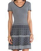 Nanette Lepore Illusion Dress - Lyst