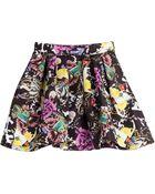 Mary Katrantzou Hillie Printed Skirt - Lyst
