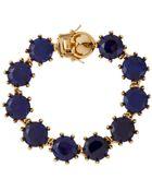 Eddie Borgo Crystal Bracelet - Lyst