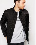 Esprit Quilted Jacket - Lyst