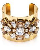 Kate Spade Glass Arches Statement Cuff - Lyst