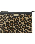 Dune Eboomiez Double-pouch Clutch Bag - Lyst