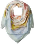 Marc By Marc Jacobs Washed Ink Scarf - Lyst