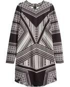 H&M Sweatshirt Dress - Lyst