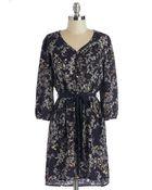 Hello Miss Arboreal Birdsong Dress - Lyst