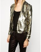 Asos Blazer With Two-Tone Sequins - Lyst