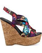 G by Guess Women'S Havana Platform Wedge Sandals - Lyst