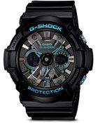 G-shock Black Blue Watch  - Lyst