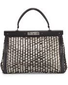Tory Burch Large Scaled Doctors Bag  - Lyst