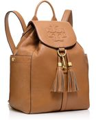 Tory Burch Thea Backpack - Lyst