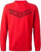 Diesel Sbansi Sweatshirt - Lyst