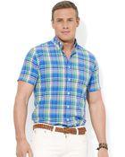 Polo Ralph Lauren Polo Big and Tall Poplin Shirt - Lyst