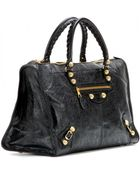 Balenciaga Giant Work 12 Leather Tote - Lyst