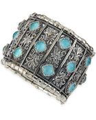 Konstantino Turquoise Doublet Cuff Bracelet - Lyst