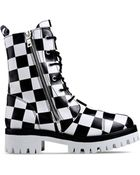 Moschino Combat Boots - Lyst