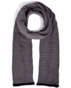 Missoni Mohair-Wool Striped Scarf - Lyst