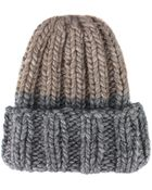 Kiss By Fiona Bennett Wool And Alpaca Kirk Ii Hat - Lyst