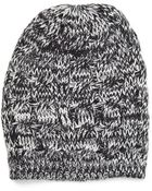 Forever 21 Chunky Cable Knit Beanie - Lyst