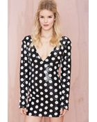 Nasty Gal On The Dot Sequin Dress - Lyst