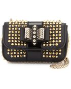 Christian Louboutin Sweet Charity Spiked Crossbody Bag - Lyst