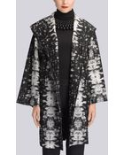 Natori Printed Wool Jacket - Lyst