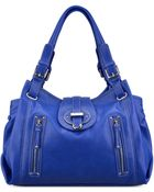 Nine West Zipster Medium Satchel - Lyst