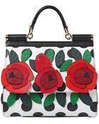Dolce & Gabbana Medium Sicily Dauphine Leather Bag - Lyst