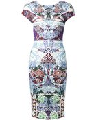 Mary Katrantzou Scuba Dress - Lyst