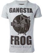 Philipp Plein 'Gangsta Frog' T-Shirt - Lyst
