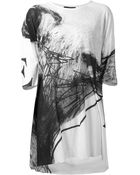 Area Di Barbara Bologna Abstract Print Loose Fit T-Shirt - Lyst