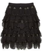 Alice + Olivia Codi Embellished Skirt - Lyst