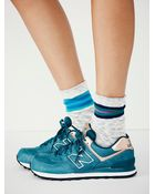 New Balance Womens Metal Trainer - Lyst