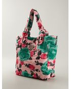 Marc By Marc Jacobs 'Preppy Nylon Jerrie Rose Lil Tate' Tote - Lyst