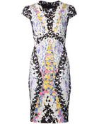 Peter Pilotto Digital Print Dress - Lyst