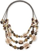 Alexis Bittar Elements Triple-strand Necklace - Lyst