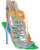 Sophia Webster Lacey Heeled Sandals - For Women - Lyst