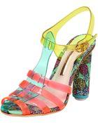Sophia Webster 100Mm Rosa Pineapple Jelly Sandals - Lyst