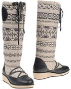 Armani Jeans Boots - Lyst