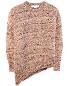 Stella McCartney Asymmetric Wool-Blend Sweater - Lyst