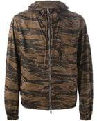 Moncler Camouflage Windbreaker Jacket - Lyst