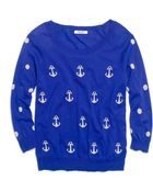 Madewell Anchors & Dots Sweater - Lyst