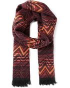 Missoni Woven Scarf - Lyst