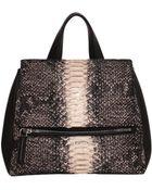 Givenchy Small Phython Pandora Flap Bag - Lyst