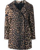 Ermanno Scervino Leopard Print Coat - Lyst