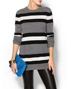 Equipment Rei Striped Crew Neck Sweater - Lyst