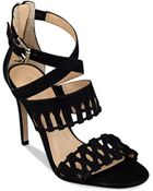 Ivanka Trump Dress Sandals - Drita Woven Cutout - Lyst