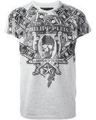 Philipp Plein Cashflow Cotton T-Shirt - Lyst