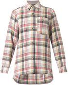 Isabel Marant Milane Check-Print Flannel Shirt - Lyst