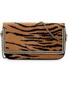 Judith Leiber Couture Carmichael Calf Hair Clutch Bag - Lyst